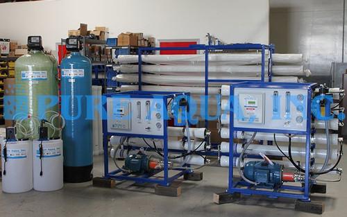 Sistema de Osmose Reversa de Água do Mar 1X 5,600 & 1X 3,000 GPD - Angola