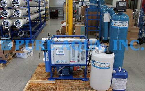Máquina de Osmose Reversa de Água do Mar 1,300 GPD - Quênia
