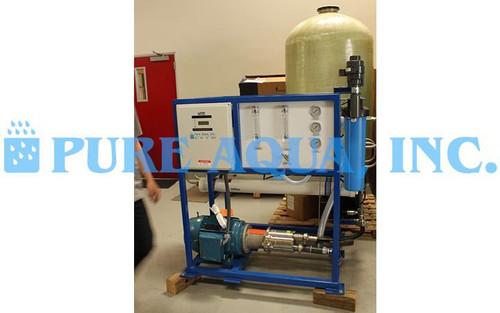 Máquina de Osmose Reversa de Água do Mar 7,600 GPD - Rússia