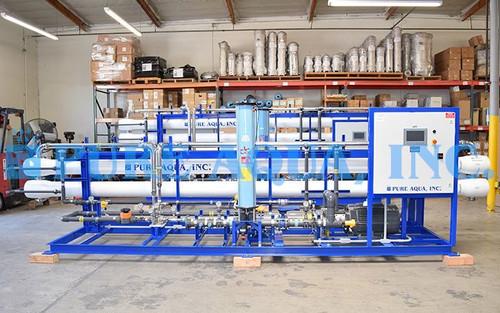 Planta de Osmose Reversa de Água do Mar 48,000 GPD & 96,000 GPD - Maldivas