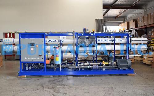 Sistema de Osmose Reversa de Água do Mar 2X 48,000 GPD - Belize