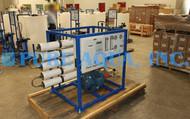 Máquina de Osmose Reversa de Água do Mar 4,700 GPD - Kuwait