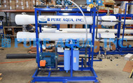 Sistema Piloto de Osmose Reversa de Água do Mar 16,000 GPD - EUA