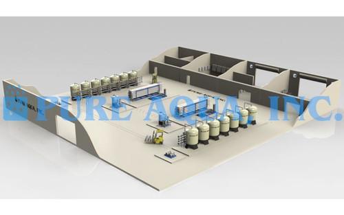 Planta de Tratamento de Água do Mar 1.4 Milhão GPD - Peru