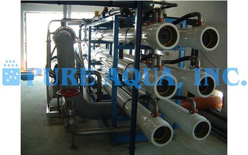 Unidade Industrial de Osmose Reversa de Água do Mar 100,000 GPD - Catar