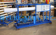 Sistema Industrial de Osmose Reversa de Água do Mar 11,000 GPD - Ilha Fiji