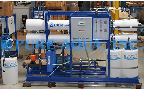 Máquina Industrial de Osmose Reversa de Água do Mar 16,000 GPD - Tailândia