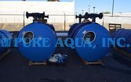 Sistema Duplo de Filtragem Industrial em Múltiplas Camadas 2x 160 GPM - EUA