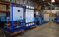 Sistema de Ultrafiltração para Fábrica de Engarrafamento 150 GPM - Gana