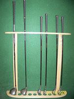 Wall Mount golf club Rack - KG12