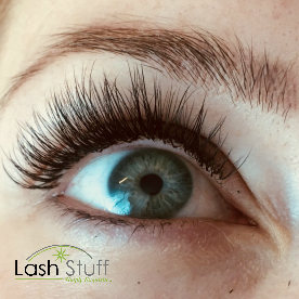 Woman with Eyelash Extensions