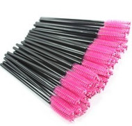 Hot Pink Mascara Brushes lashstuff.com