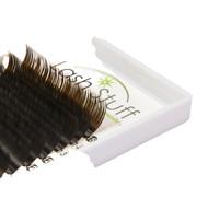 Brown Eyelash Extensions by Lash Stuff