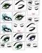 Eyelash Extension Temporary Tattoos