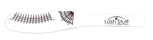 eyelash extension measurement tool lashstuff.com