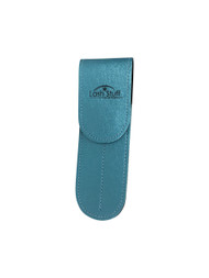 Teal double eyelash extension tweezer case by Lash Stuff