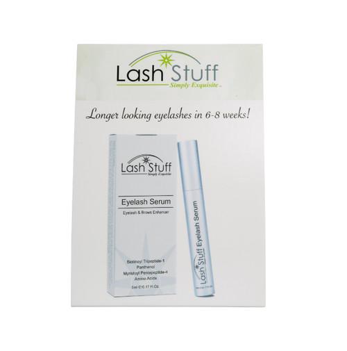 Lash Stuff Serum Promotional Counter Display