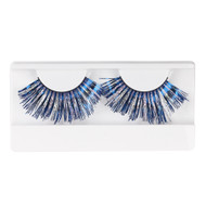 Blue/Purple Glitter Eyelashes by Lash Stuff