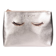 Rose Gold Eyelash Cosmetic Bag by Lash Stuff