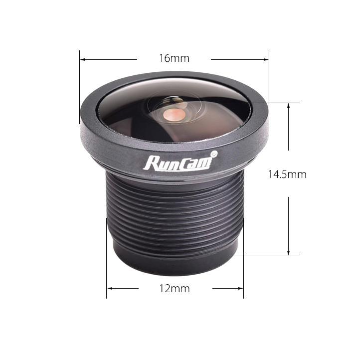 RunCam E2P M12 Replacement FPV Camera Lens Specs