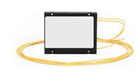 1×2 Fiber PLC Splitter, ABS Box Type, Singlemode, SC/APC - PLC-ABS-1X2SCA01M5