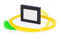 1×4 Fiber PLC Splitter, ABS Box Type, Singlemode, SC/APC - PLC-ABS-1X4SCA01M5