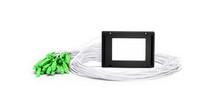 1x32 PLC Fiber Splitter, Splice/Pigtailed ABS Module, 900um, SC/APC, Singlemode
