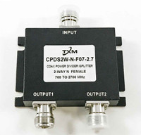 2 Way N Female RF Coax Power Divider, Splitter, Combiner
