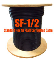 Standard Flex 50 Ohm Coax Cable Bulk 500' Reel (Compare to LDF4-50A -1/2) - SF12-500