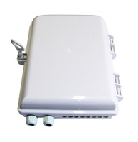 Weather Resistant 16 Port Outdoor Fiber Distribution Box FTTH -OFTFDB16A