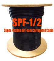"""1/2"""" Super Flexible 50 ohm Coax Cable - 500' (Compare to Commscope FSJ4-50B) - SPF12D"""