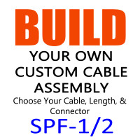 SPF-1/2/FSJ4-50B Super Flexible Coax Cable - Build Your Own Cable Assembly