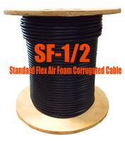 Standard Flex 50 Ohm Coax Cable Bulk 1000' Reel (Compare to LDF4-50A -1/2) - SF12-1000