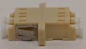 LC Duplex Beige Multimode Coupler large flange - FCLCULCUMMBGFF2CFL