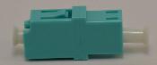 LC Duplex Aqua Multimode 10Gb OM3 Coupler small flange - FCLCULCUMMAQFF2CXH