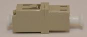 LC Duplex Beige Multimode Coupler small flange -FCLCULCUMMBGFF2CXH