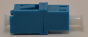 LC Duplex Blue Singlemode Coupler small flange - FCLCULCUSMBLFF2CXH