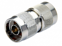 N Male to N Male Coax Adapter