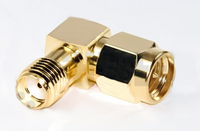 SMA Male to SMA Female Coax Adapter