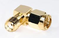 SMA Male to SMA Female Coax Adapter