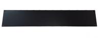 "2 RU Blank Rackmount Panel - Blank Solid Black Panel 3.50"" x 19"" (BLANK-PNL-2RU-19BK)"