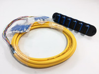 CCH-CP12-59-P03RH - CCH FOOTPRINT 12 FIBER SCU DUPLEX SM (OS2) W/ 3M PIGTAIL Closet Connector Housing