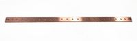 "1"" X 23"" HORIZONTAL COPPER BUSBAR (20) 1/4"" HOLES W/ 1"" SPACING (BBHOR123)"