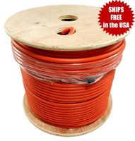 LMR-400-LLPL Type Plenum Low Loss Coax Cable 500' REEL - ORANGE JACKET - LOW400PORD
