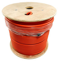 LMR-400-LLPL Type Plenum Low Loss Coax Cable by the Foot - ORANGE JACKET - LOW400POR