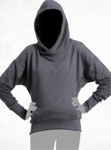 Mapper Hoodie - Grey Melange