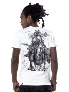 Rhino Supreme T-Shirt - Dirty White