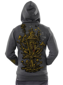 Golden Teacher - Jacket/Hoodie - Grey