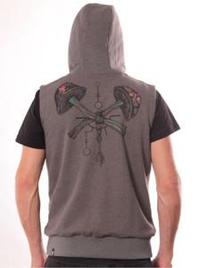 Champignon Smokey Melange Vest