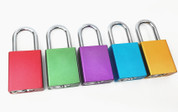 "Aluminum Safety Padlock 1-1/2"" more colors avaliable"